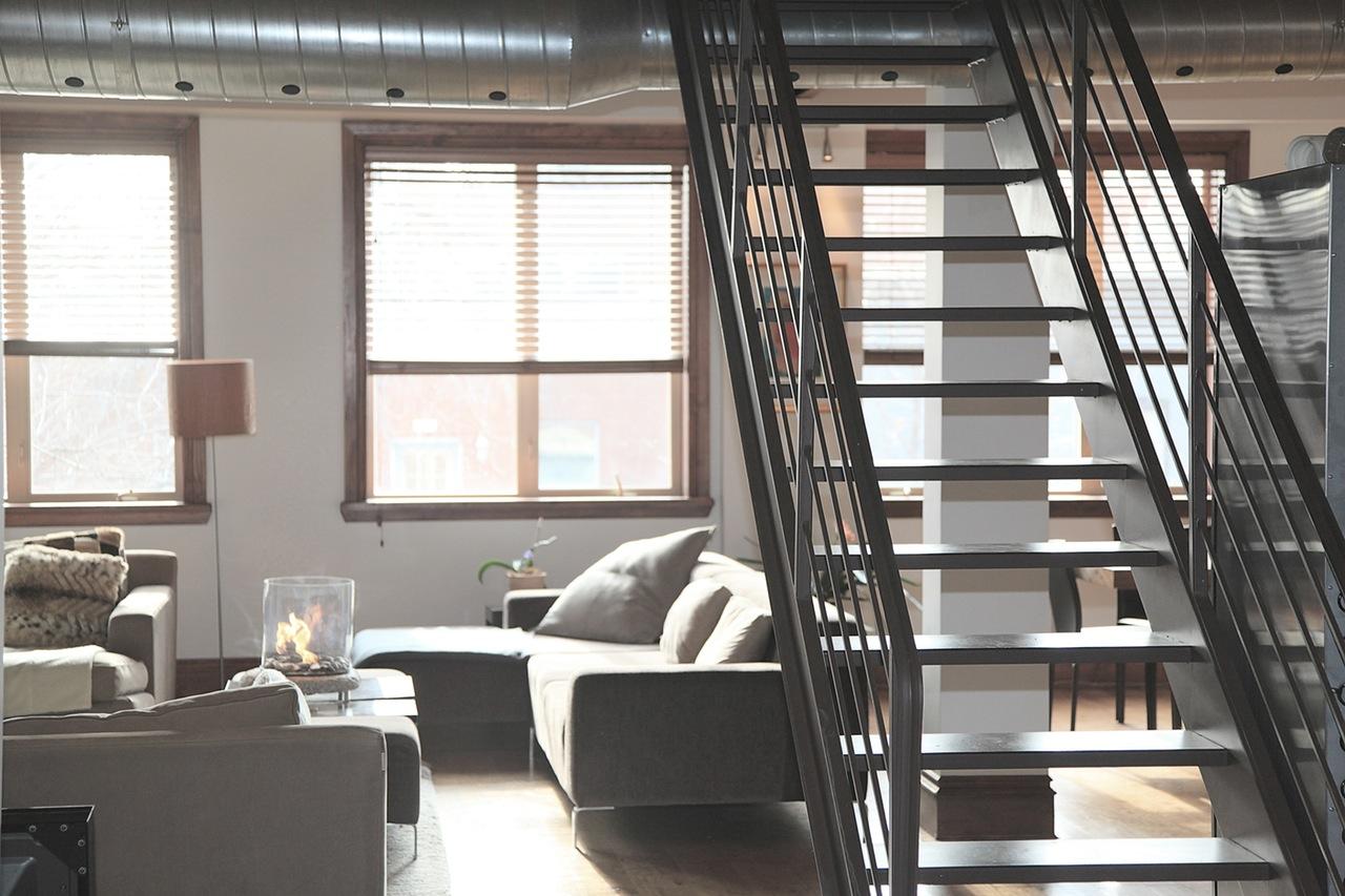 schody w pokoju